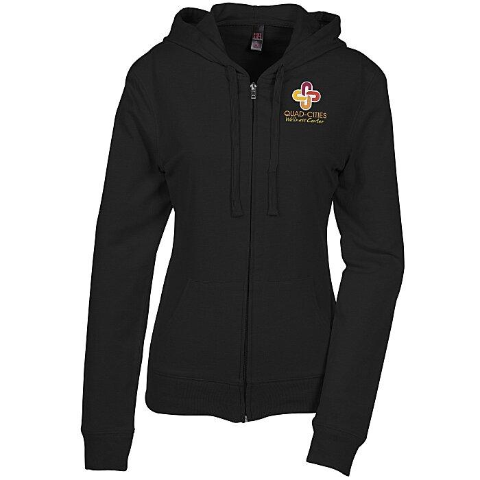 ab5df5c0ecfd5 Lightweight Jersey Full-Zip Hoodie - Ladies'