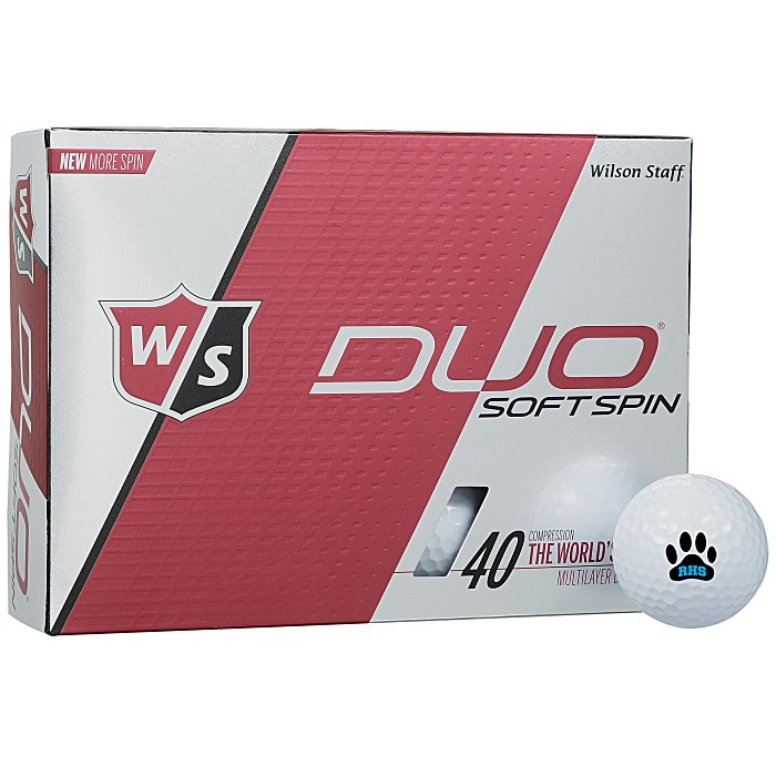 4imprint Com Wilson Staff Duo Spin Golf Ball Dozen
