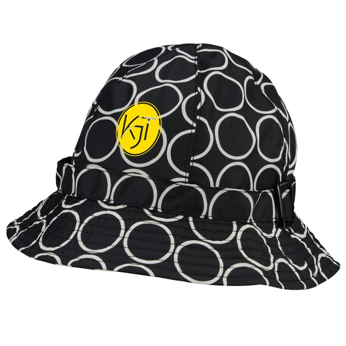 slide 1 of 2. totes Fashion Printed Bucket Rain Hat ... 8f2fc2a091a