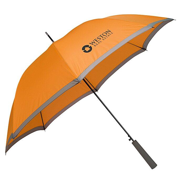two tone umbrella 46 arc 129780. Black Bedroom Furniture Sets. Home Design Ideas