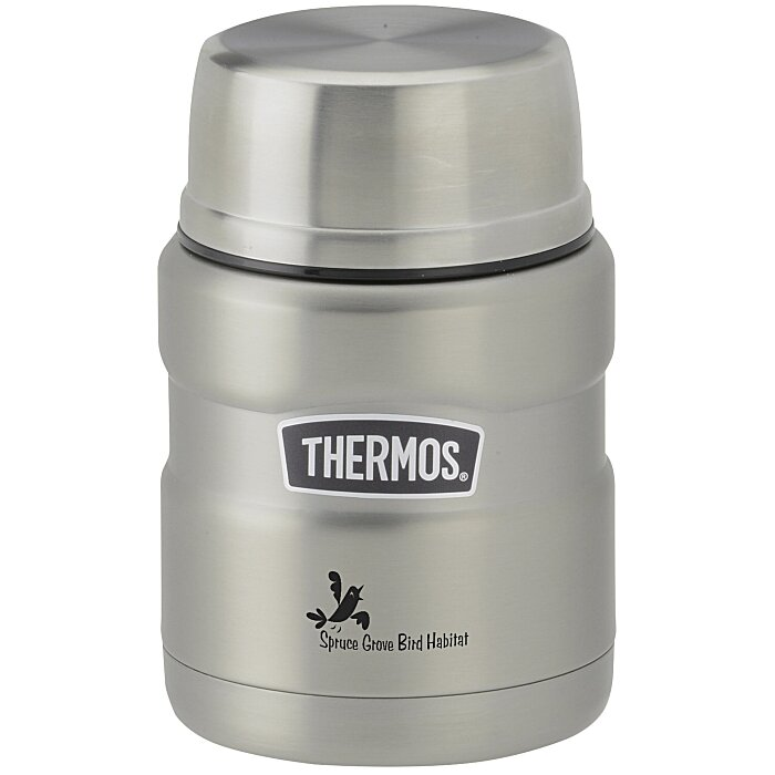 thermos food jar 4imprint thermos king food jar with spoon 16 oz 130562 30651