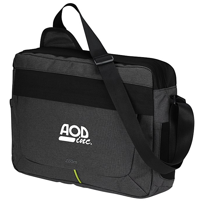 4imprint.com  Zoom Power Stretch Laptop Messenger Bag 129385 3ddb40a92e2bd