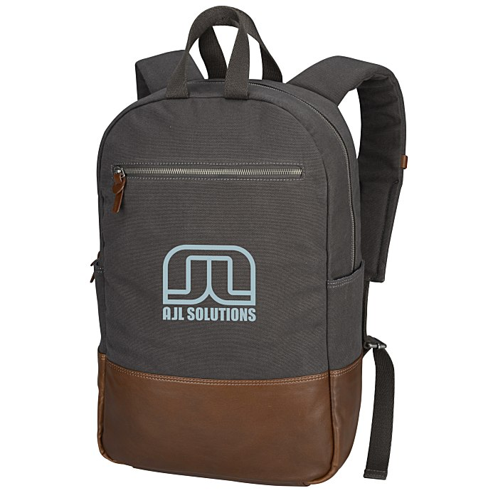 4fd2a82f8a 4imprint.com  Alternative Slim Laptop Backpack 131311