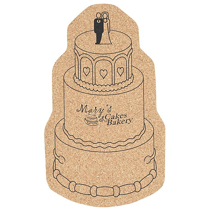 Wedding Cork Coaster: 4imprint.com: Large Cork Coaster
