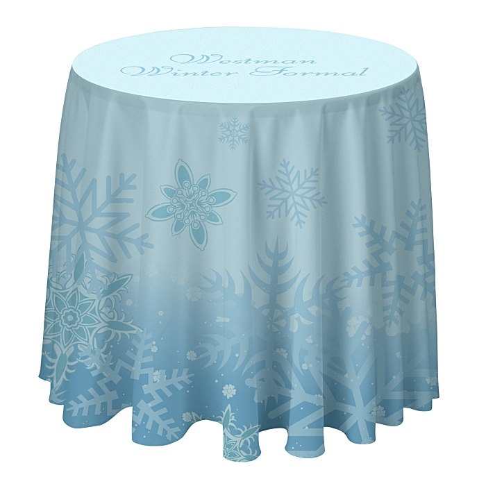 Round table throw 3 39 full color 131940 3 for Table th row group