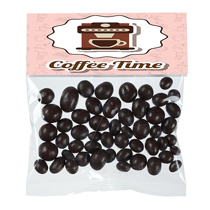 4imprint Com Snack Treats Dark Chocolate Espresso Beans