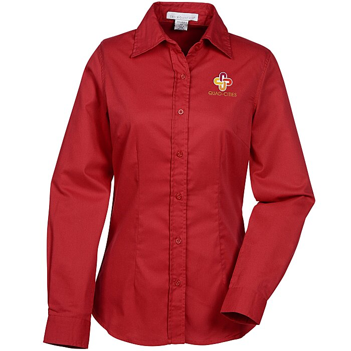 Regal brushed twill shirt ladies 39 132013 l for Brushed cotton twill shirt
