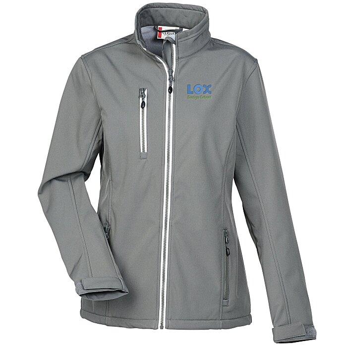 a14ff9ac13d7 4imprint.com  Telemark Soft Shell Jacket - Ladies  132002-L