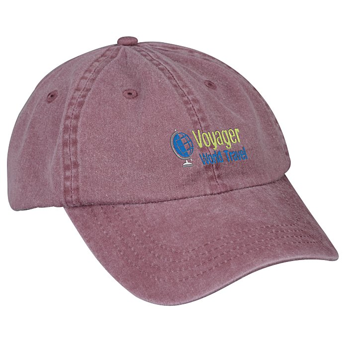 d5d4ab2990e 4imprint.com  Washed Cotton Twill Cap 132419