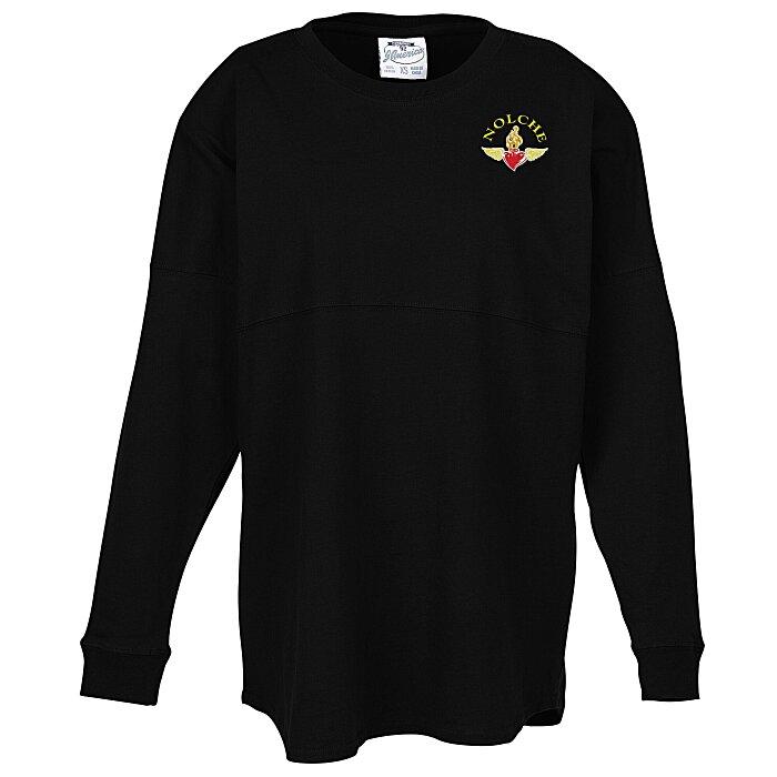 12f08d407cc1 4imprint.com  J. America Game Day Jersey T-Shirt - Embroidered 132589-E