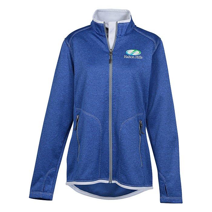 d587e1160 4imprint.com  Cima Knit Jacket - Ladies  - 24 hr 131204-L-24HR