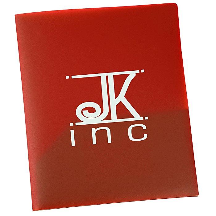 Two Pocket Business Card Folder - 24 hr (Item No. 121548-24HR ...