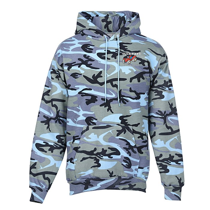 2fd062a0 4imprint.com: Fashion Pullover Hooded Sweatshirt - Camo 132465-CAMO
