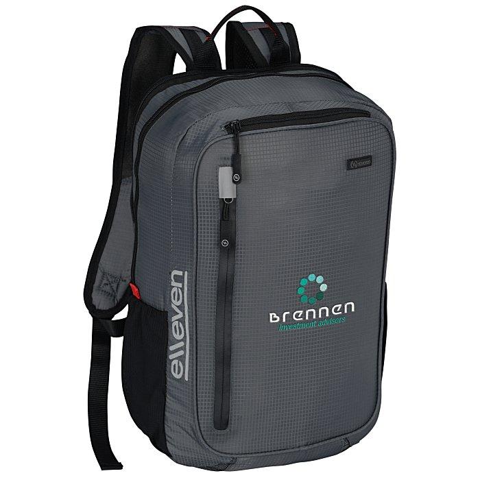 0c1122865 4imprint.com: elleven Lunar Lightweight Laptop Backpack - Embroidered  133750-E