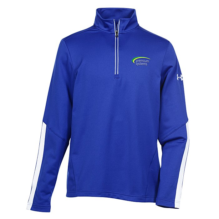 030624485 4imprint.com: Under Armour Qualifier 1/4-Zip Pullover - Men's - Embroidered  134152-M-E