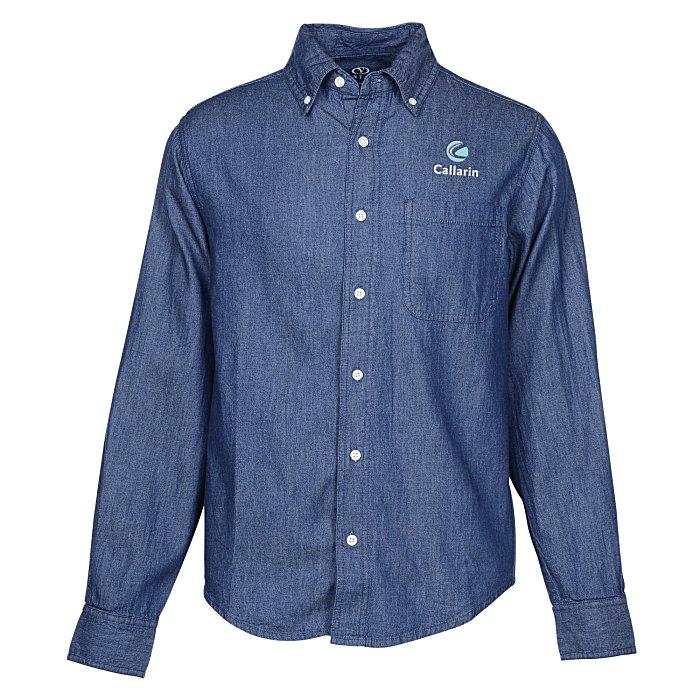 7c4fe7828de 4imprint.com: Hudson Denim Shirt - Men's 134783-M