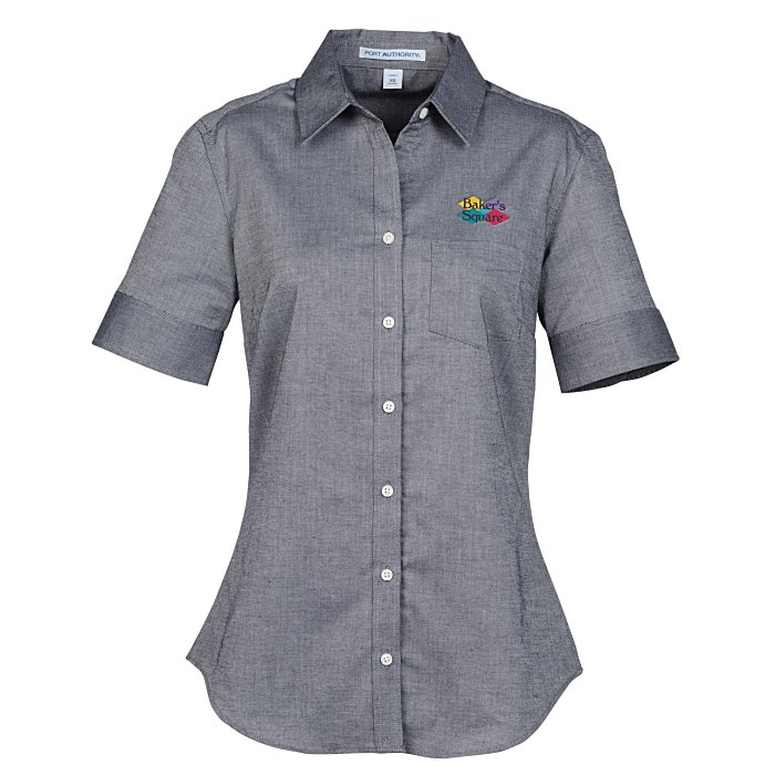 e940a3959f Performance Oxford Short Sleeve Shirt - Ladies'