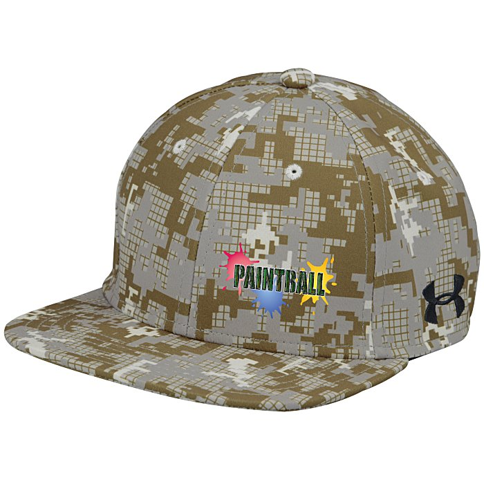 4imprint.com  Under Armour Flat Bill Cap - Digital Camo - Full Color  134881-CAMO-FC 835d486ee171