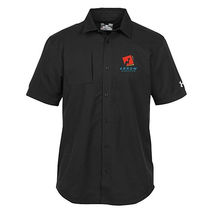 Burnside Mens Monarch Short Sleeve Shirt
