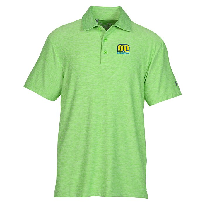 Under armour playoff polo embroidered for Under armour embroidered polo shirts