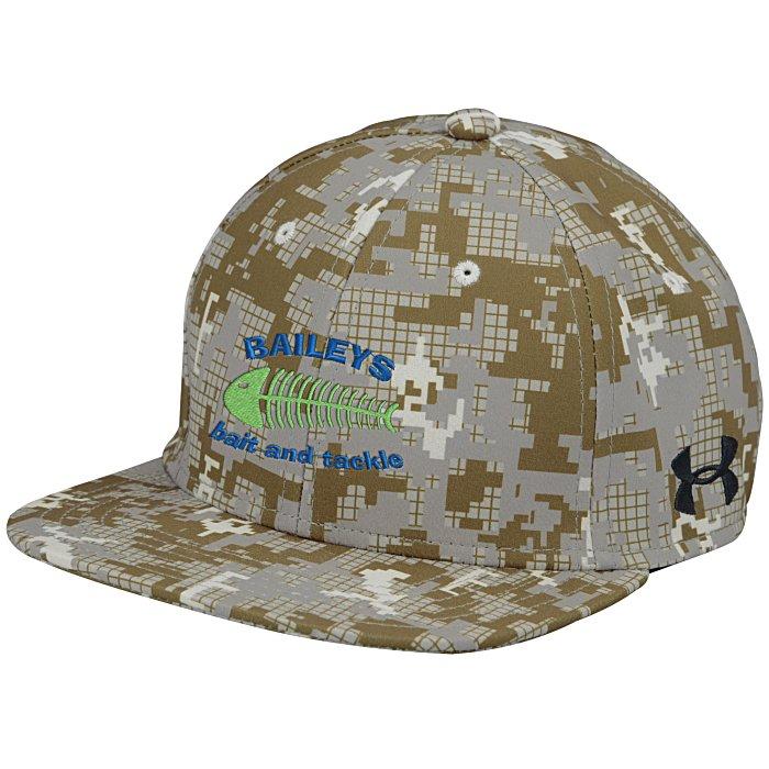 4imprint.com  Under Armour Flat Bill Cap - Digital Camo - Embroidered  134881-CAMO-E b10b3999c15