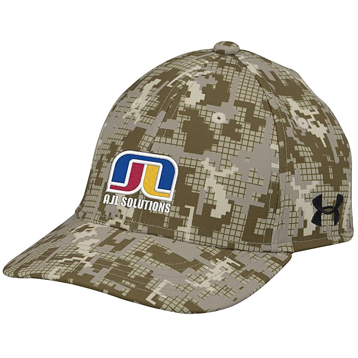 01110acaa07 4imprint.com  Under Armour Curved Bill Cap - Digital Camo - Embroidered  134884-CAMO-E