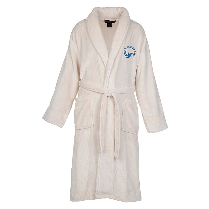 a180740fc2 4imprint.com  Tahoe Microfleece Shawl Collar Robe 135292