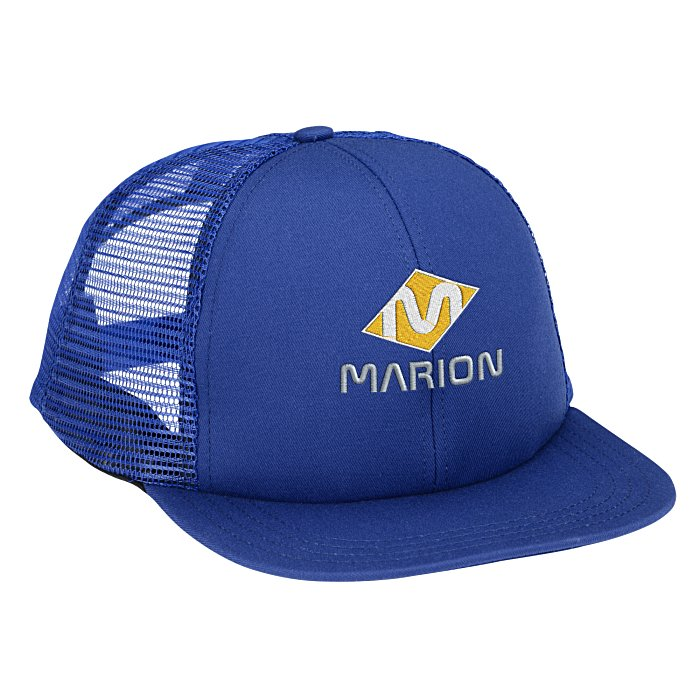 55e751f3d6c 4imprint.com  USA Made Structured Mesh Back Cap 135306