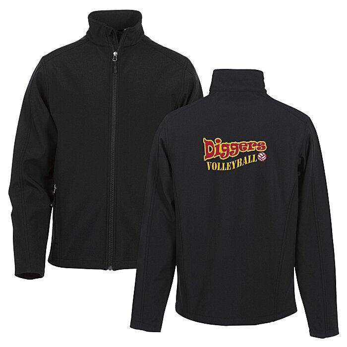Crossland Soft Shell Jacket - Men's - Back Embroidered Main Image. Loading  zoom