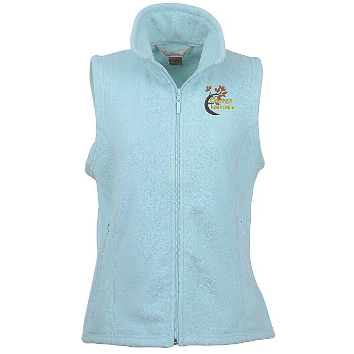 1fa71d32a774 4imprint.com  Crescent Microfleece Vest - Ladies  135652-L-V