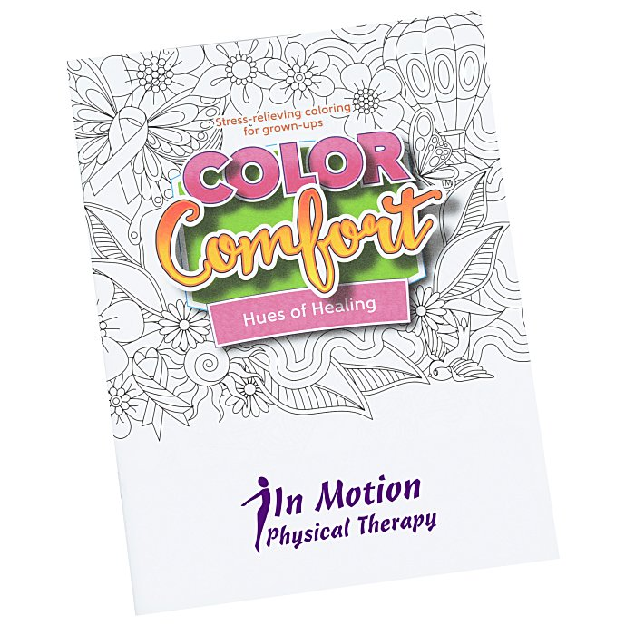 Color Comfort Grown Up Coloring Book