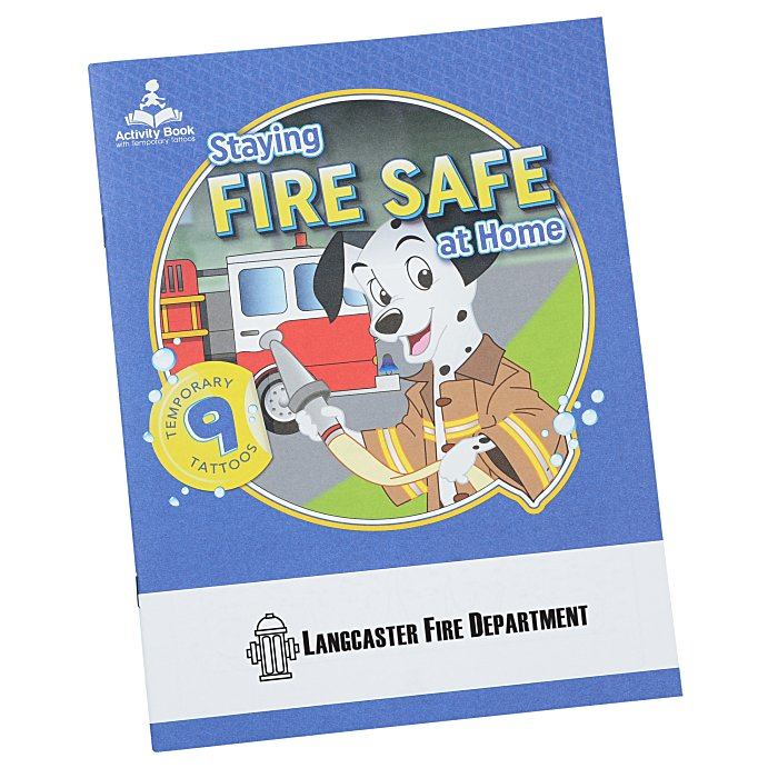 Book Cover Forros Zip Code : Imprint activity book with tattoos fire safe