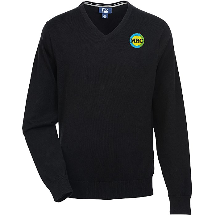 e0838afa 4imprint.com: Cutter & Buck Lakemont V-Neck Sweater - Men's 137386-M
