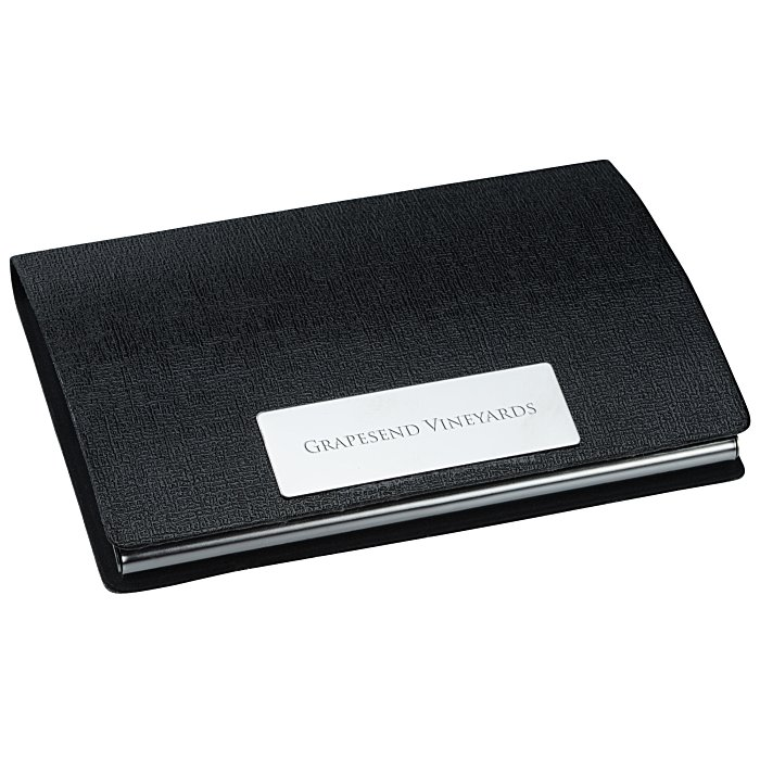 137805 is no longer available 4imprint promotional products manchester business card holder main image colourmoves