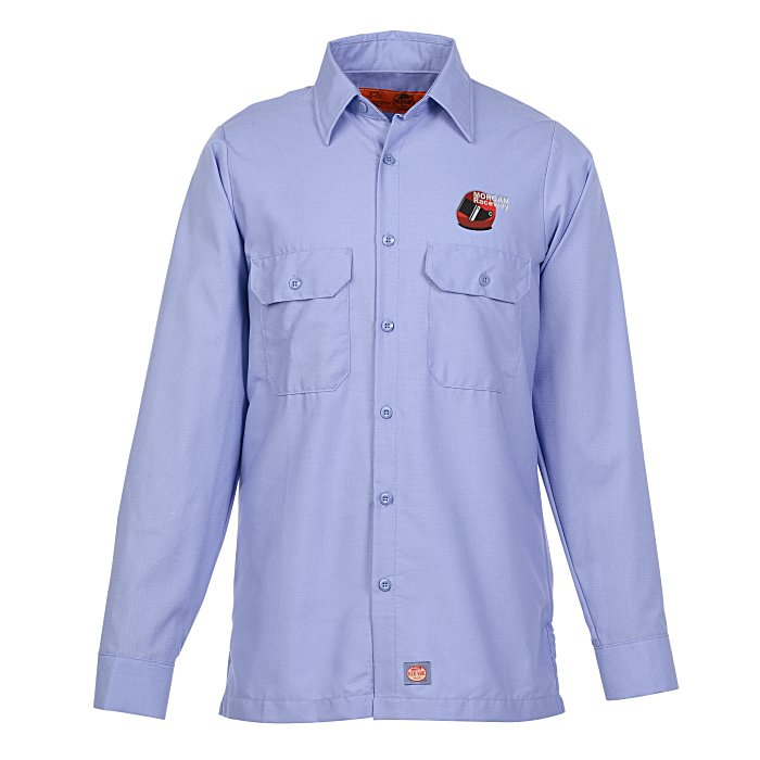 Red kap mechanic crew shirt 134660 for Red kap mechanic shirts