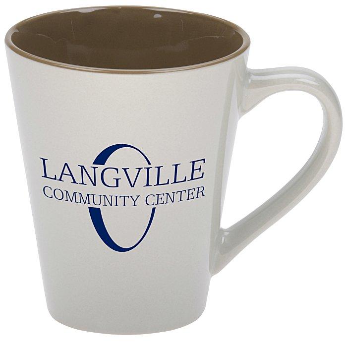 designer two tone ceramic mug 14 oz 138526