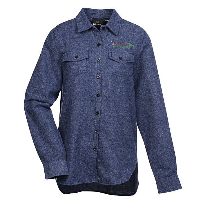 e623b6ea 4imprint.com: Burnside Flannel Shirt - Ladies' 127468-L