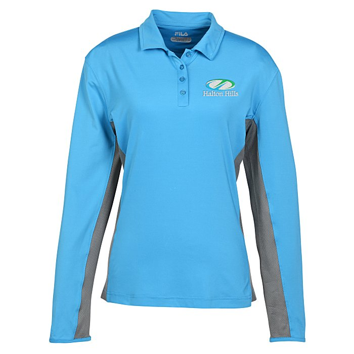 2c5988531 4imprint.com: FILA Newport Long Sleeve Polo - Ladies' 138326-L