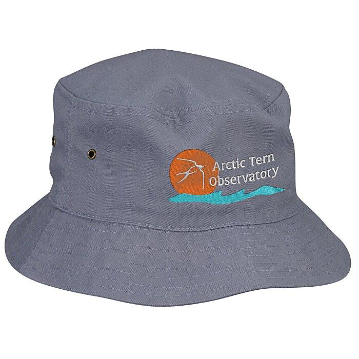 4180f12fd1b 4imprint.com  Brushed Cotton Twill Bucket Hat 138196