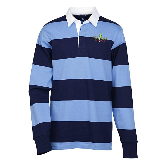 011669d230b 4imprint.com: Cotton Jersey Rugby Polo 139890