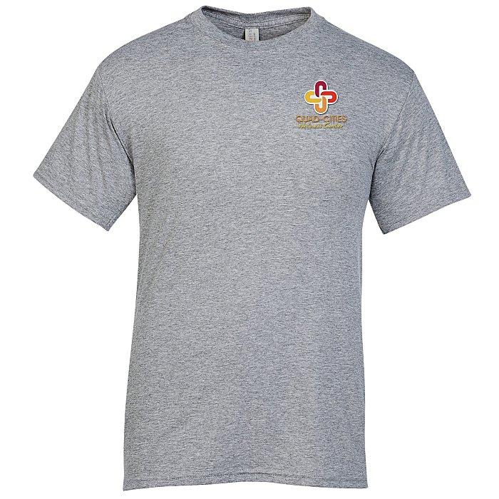 a9079524 4imprint.com: Jerzees Dri-Power Tri-Blend T-Shirt - Men's - Embroidered  139757-M-E