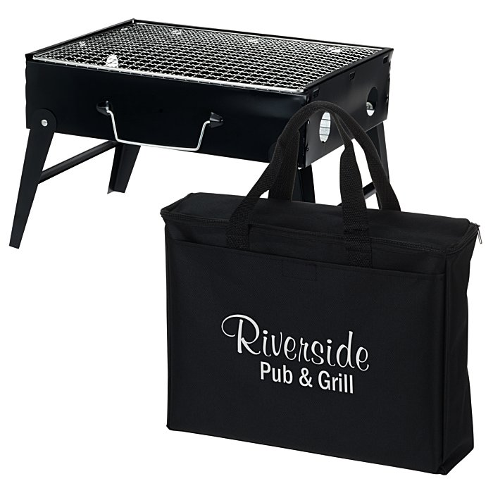 Portable Briefcase BBQ Grill Main Image
