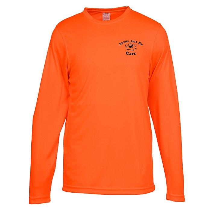 30ca0202299 4imprint.com  Cool   Dry Basic Performance Long Sleeve Tee - Men s  134190-M-LS