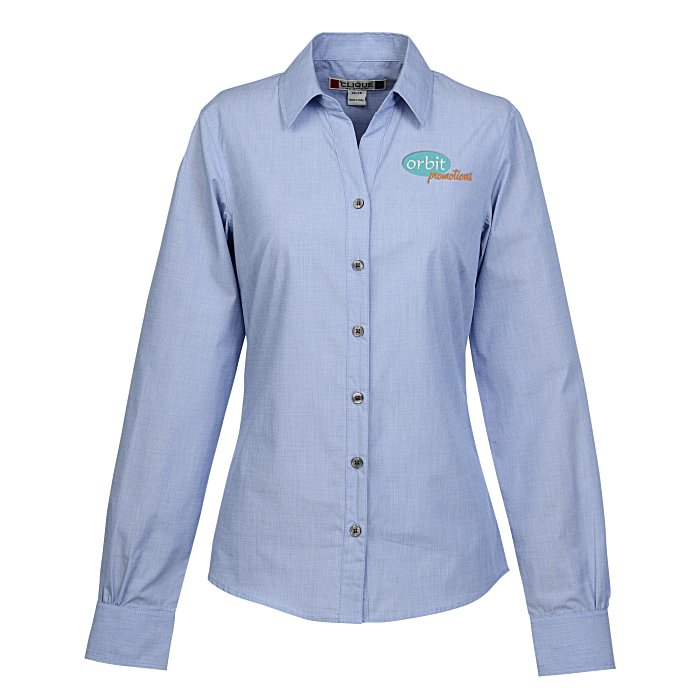 halden stain resistant dress shirt ladies