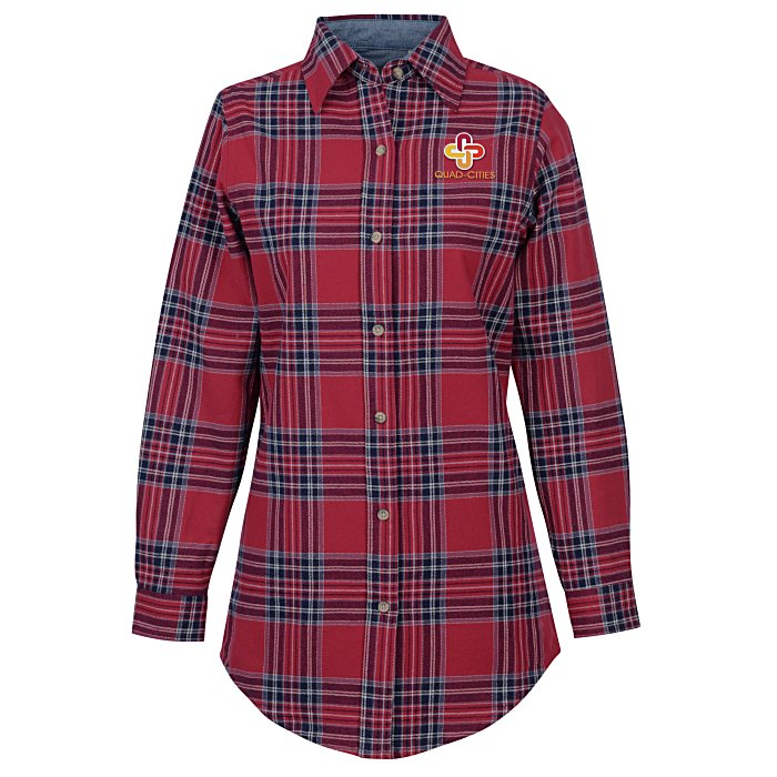 7a733a60 4imprint.com: Backpacker Yarn-Dyed Flannel Shirt - Ladies' 134767-L