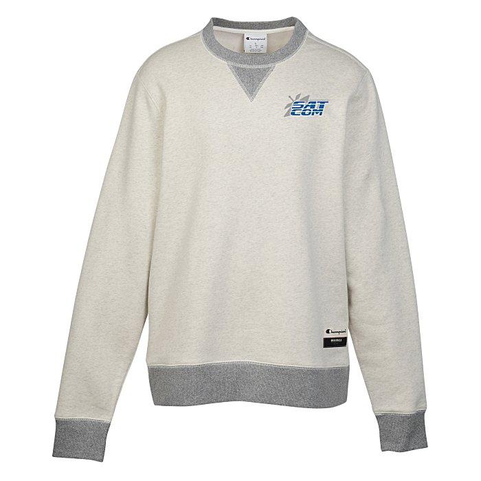 f162145e685a 4imprint.com  Champion Originals Sueded Fleece Crew Sweatshirt -  Embroidered 140595-E