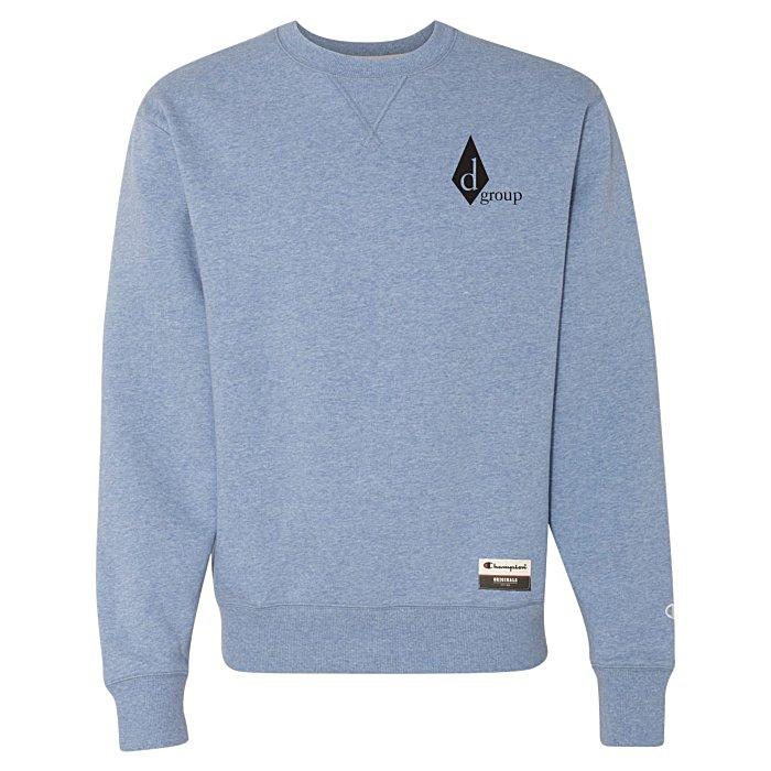 67fe76df0 4imprint.com  Champion Originals Sueded Fleece Crew Sweatshirt - Screen  140595-S