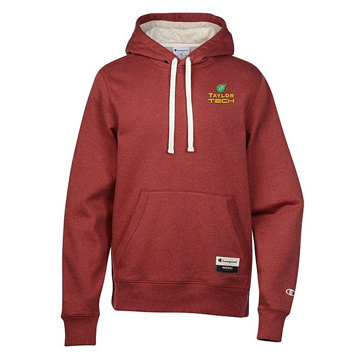 bb1e8db1e0a9 4imprint.com  Champion Originals Sueded Fleece Hoodie - Embroidered 140596-E