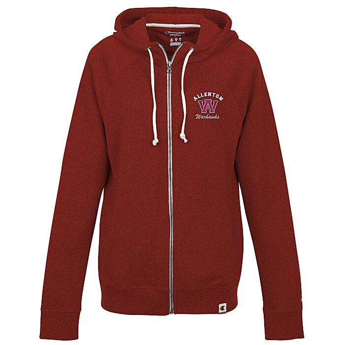 38140c9d389 4imprint.com  Champion Originals French Terry Full-Zip Hoodie - Ladies  -  Embroidered 140598-E