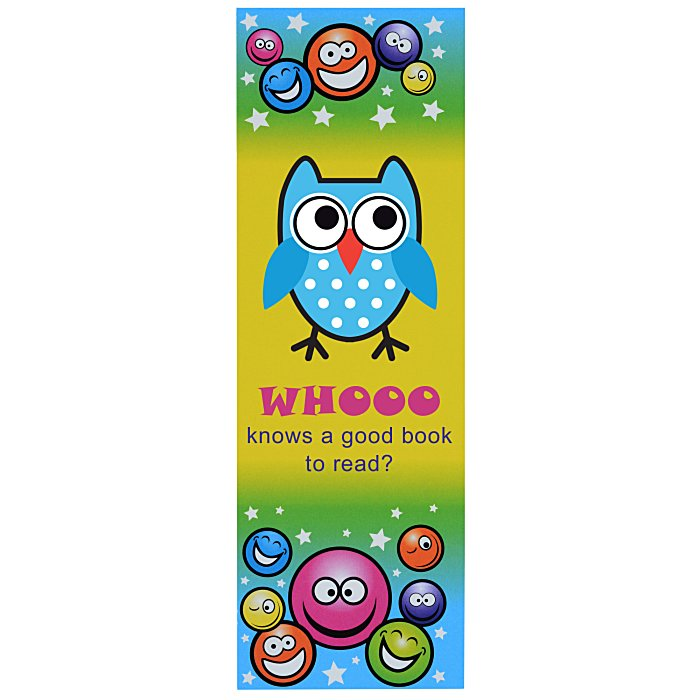 4imprint.com: Super Kid Bookmark - Smiley Faces 140889-SF